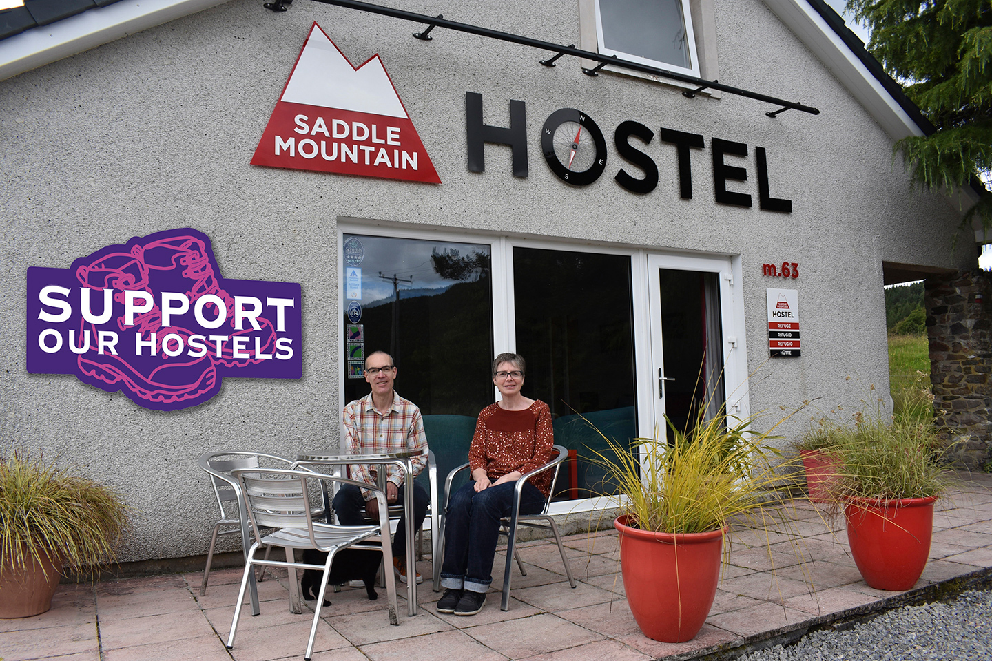 Saddle Mountain Hostel with Helen and Greg